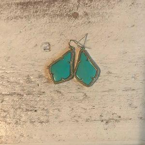 Kendra Earrings - teal